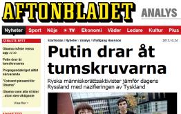 Skärmklipp, Aftonbladet 2